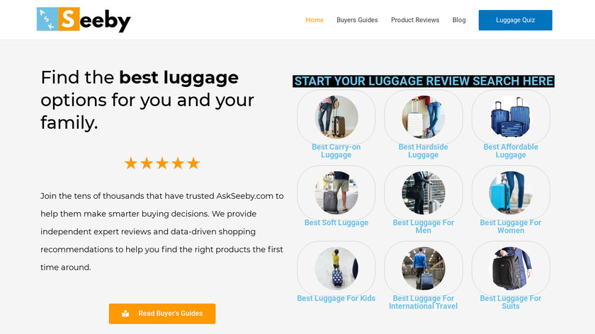 AskSeeby Landing Page
