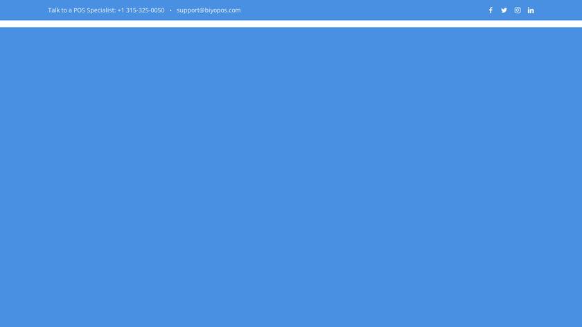 Biyo POS Landing Page