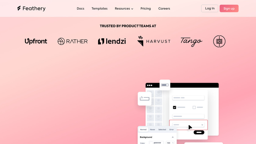 Feathery.io Landing Page