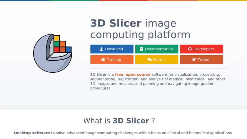 3D Slicer Landing Page