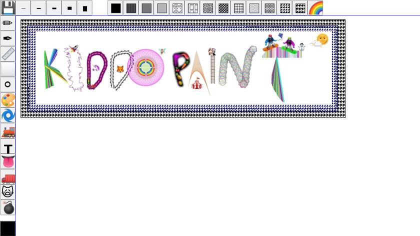 KiddoPaint Landing Page