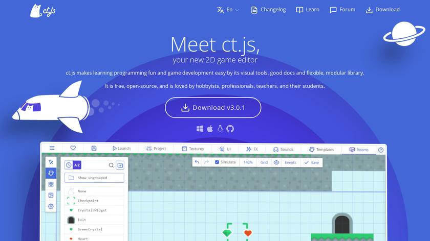 ct.js Landing Page