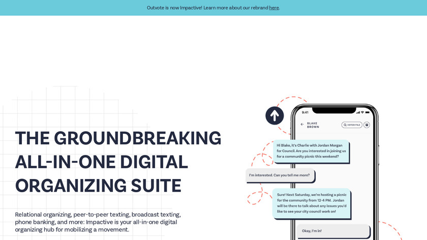 Outvote Landing Page