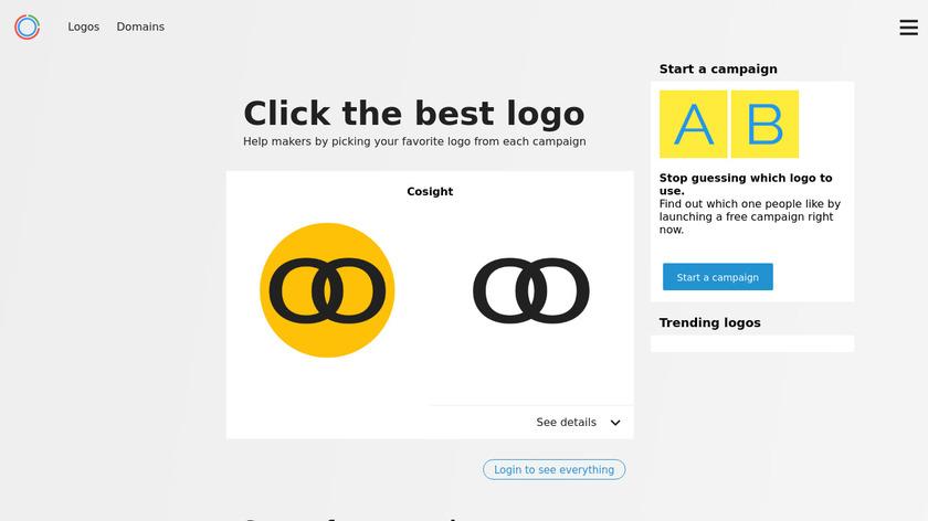Logoz Landing Page