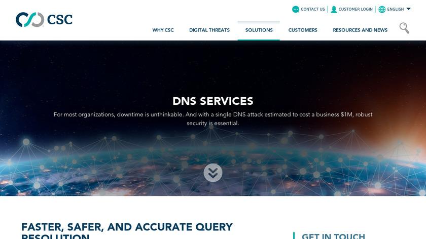 CSC DNS Landing Page