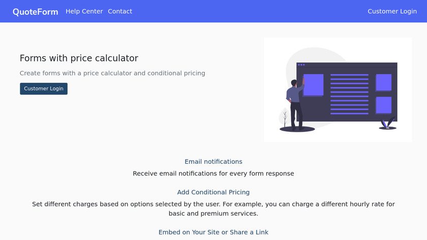 QuoteForm Landing Page