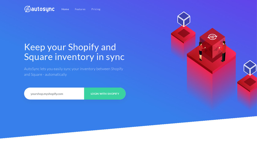 AutoSync for Shopify Landing Page