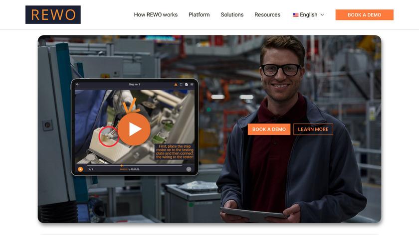 REWO Landing Page