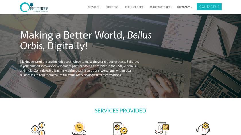 QBis Landing Page