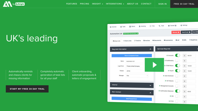 AccountancyManager Landing Page