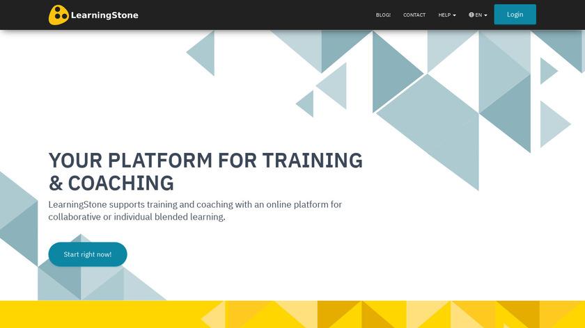 LearningStone Landing Page