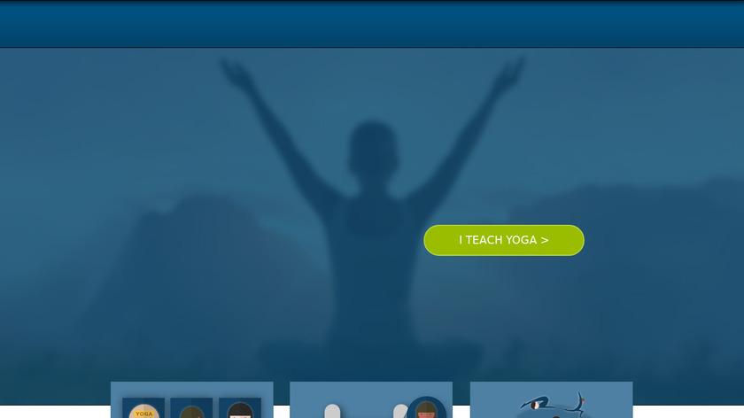YogaTrail Landing Page