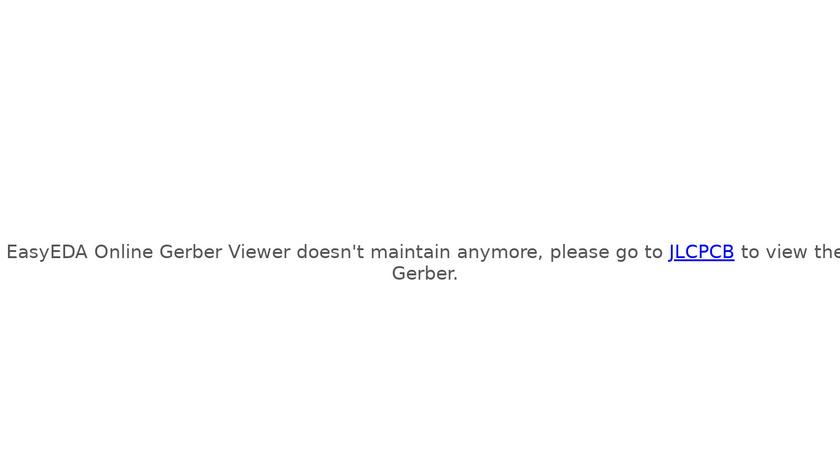 EasyEDA Gerber Viewer Landing Page