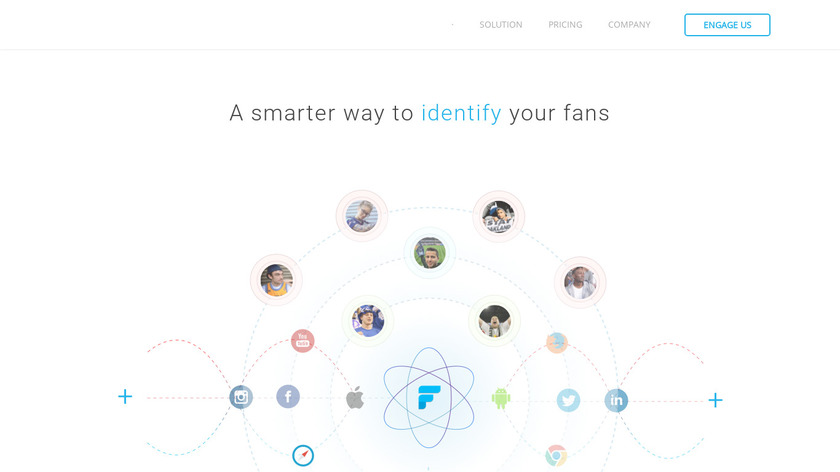 Fanly Landing Page