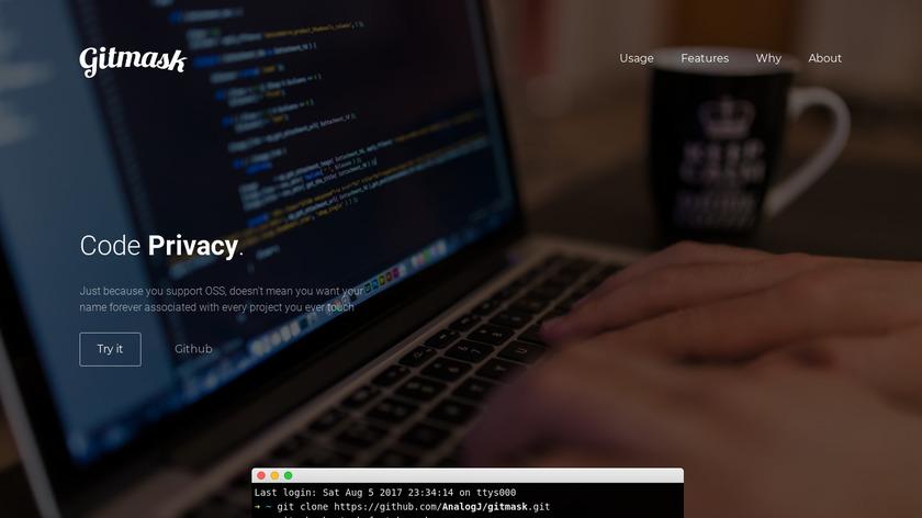 GitMask Landing Page