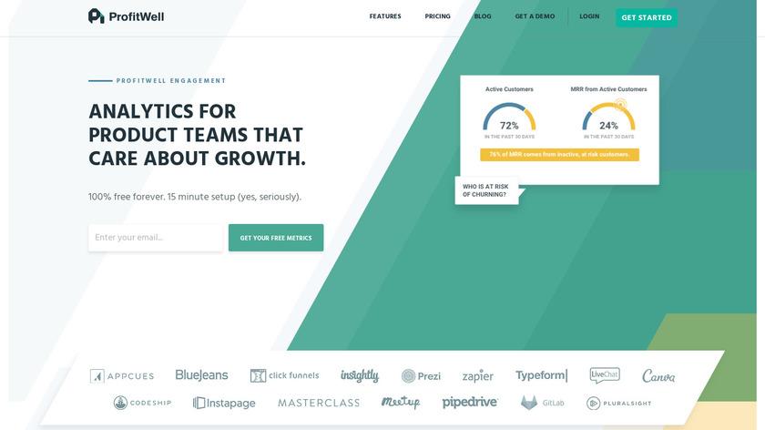 ProfitWell Engagement Landing Page