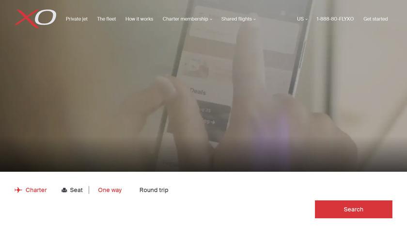 JetSmarter Landing Page