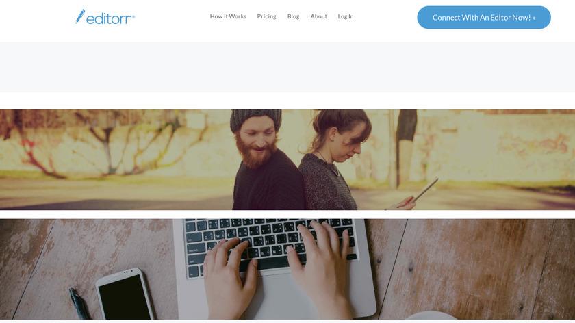 editorr Landing Page