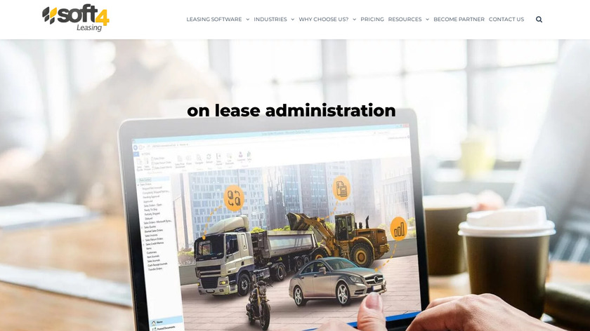 Soft4Leasing Landing Page