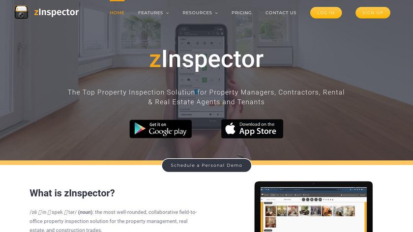 zInspector Landing Page