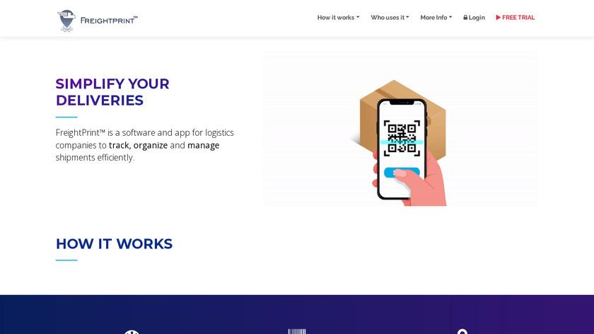 FreightPrint Landing Page