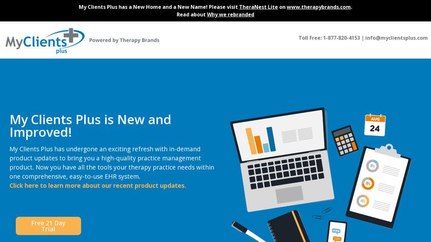 My Clients Plus Landing Page