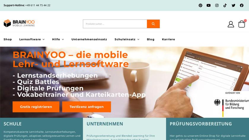 BRAINYOO Landing Page