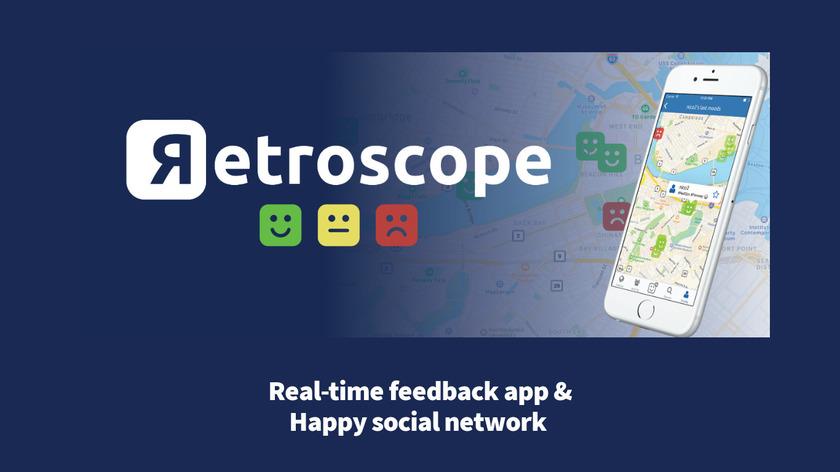 Retroscope Landing Page
