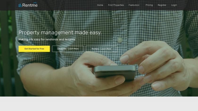 RentMe Landing Page