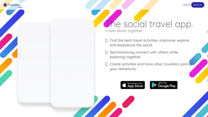 Travellar Landing Page