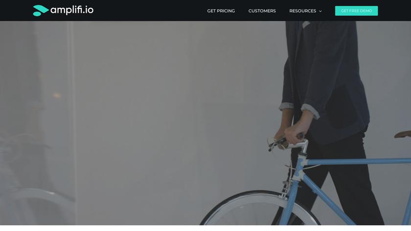 Amplifi.io Landing Page