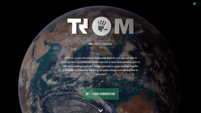 TROM Curated News Landing Page