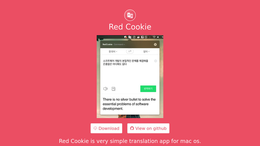 RedCookie Landing Page