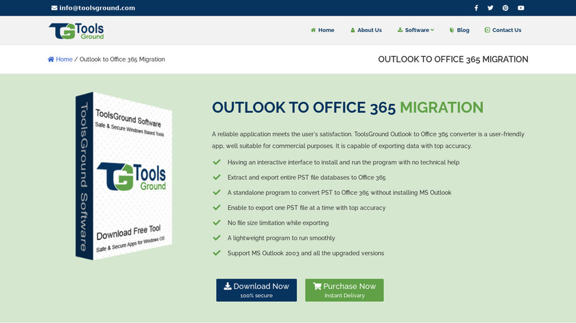 Outlook to Office 365 Migration Landing Page
