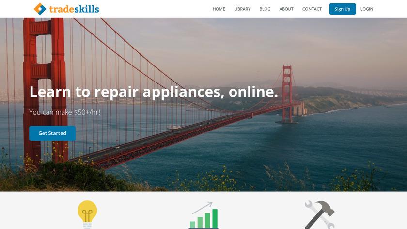 Tradeskills Landing Page