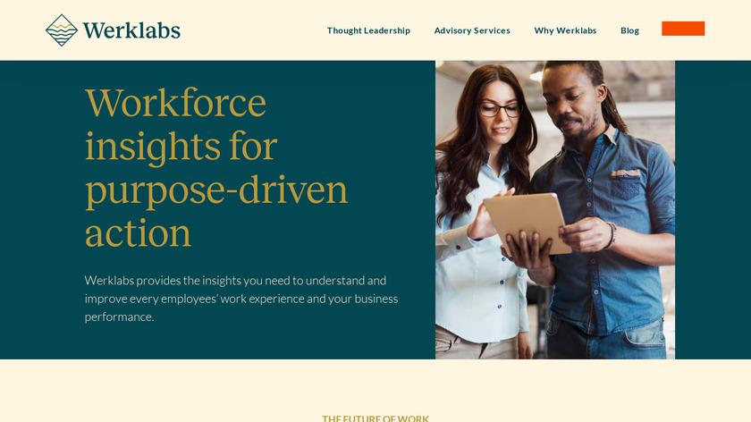 Werk Landing Page