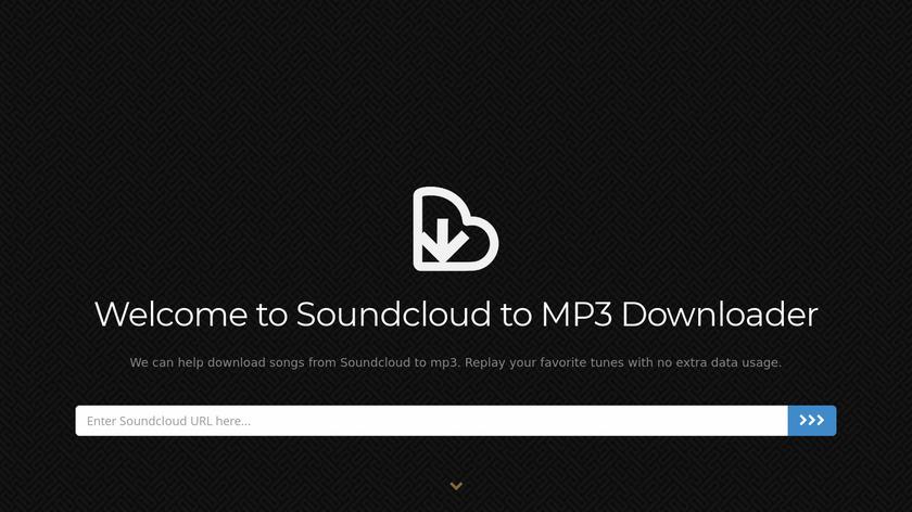 Soundcloud into Mp3 Landing Page