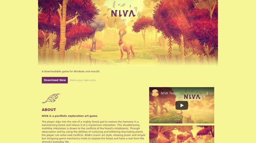 Niva Landing Page