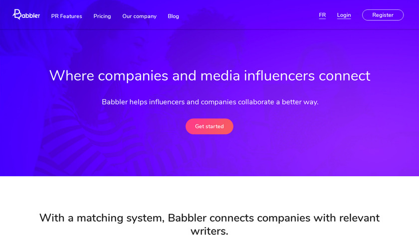 Babbler Landing Page