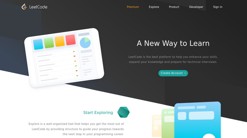 LeetCode Landing Page