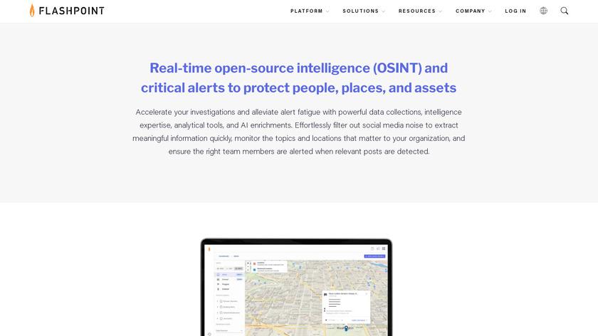Echosec Landing Page