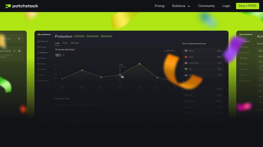 WebARX Landing Page