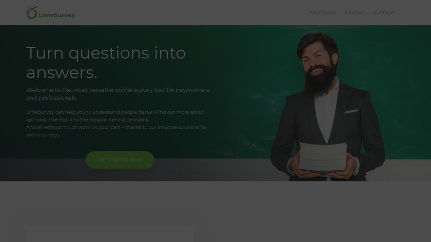 LimeSurvey Landing Page