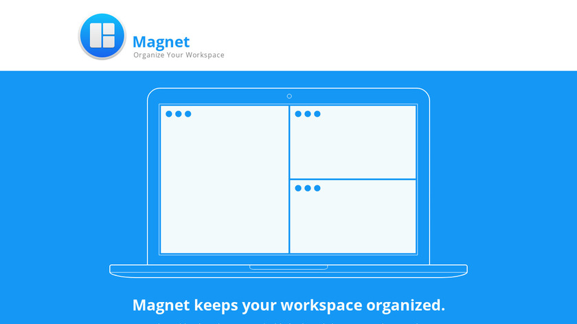 Magnet Window Manager Landing Page