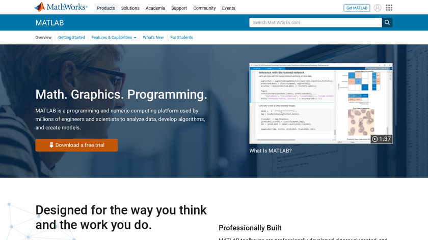MATLAB Landing Page