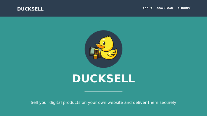 DuckSell Landing Page