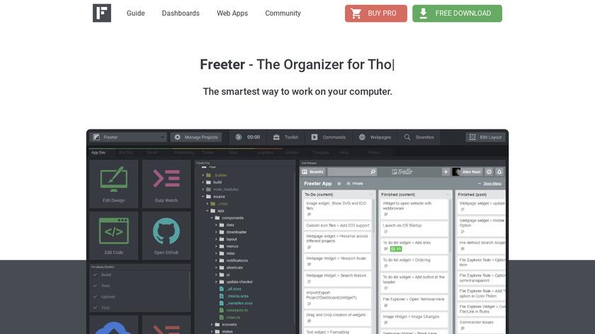Freeter Landing Page