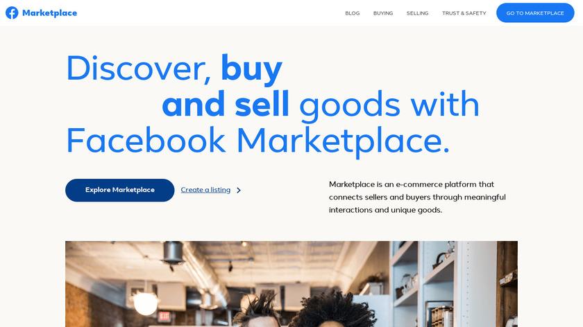 Facebook Marketplace Landing Page