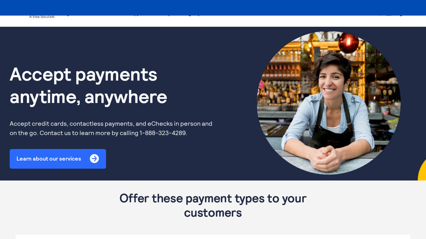 Authorize.net Landing Page