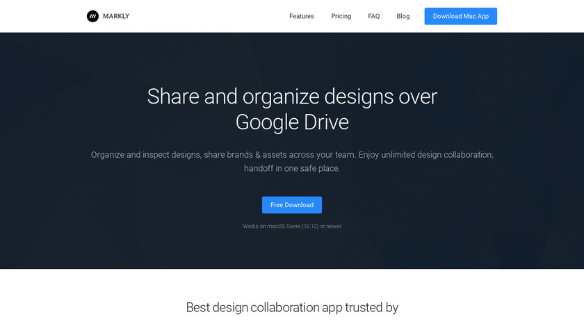 Markly Landing Page